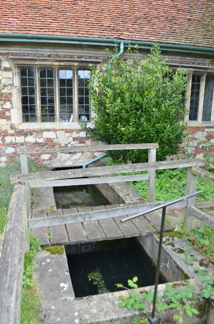 Bourne Mill - Leat