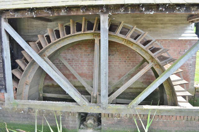 Thorrington Tide Mill - Breastshot Wheel