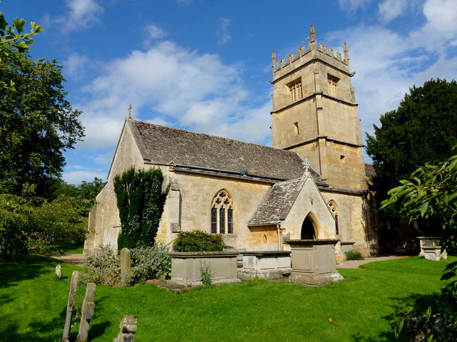 St. Faith's church, Overbury