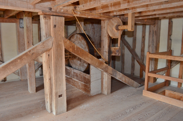 Thorrington Tide Mill - Sack Hoist
