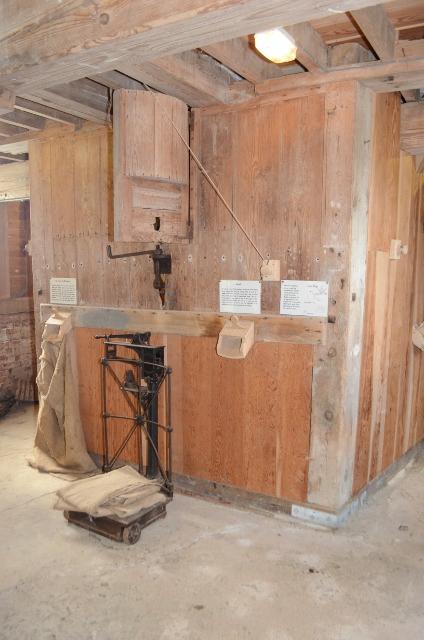 Thorrington Tide Mill - Gear Housing