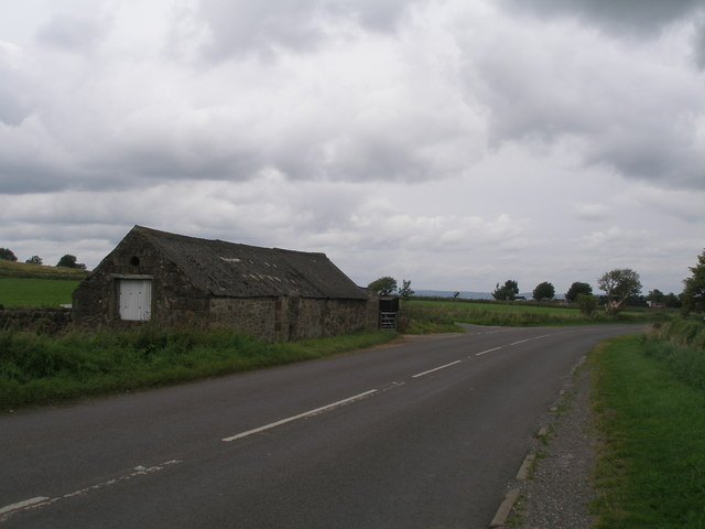 Roadside barn south of Winster