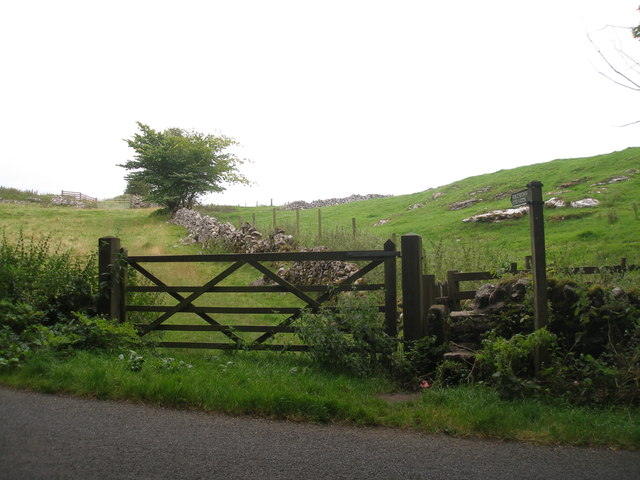 Footpath to Over Haddon