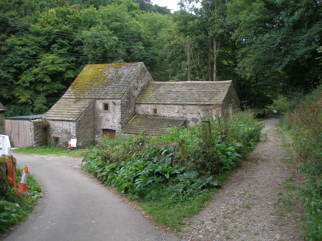 Buildings in Lathkill Dale