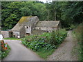 SK2066 : Buildings in Lathkill Dale by John Slater