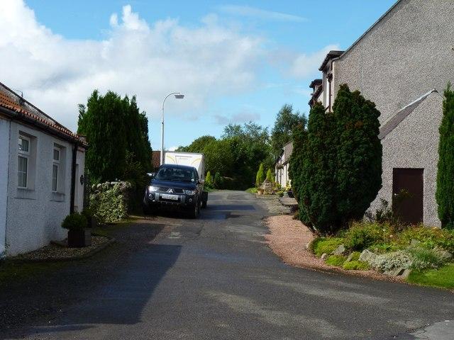 Saline side road