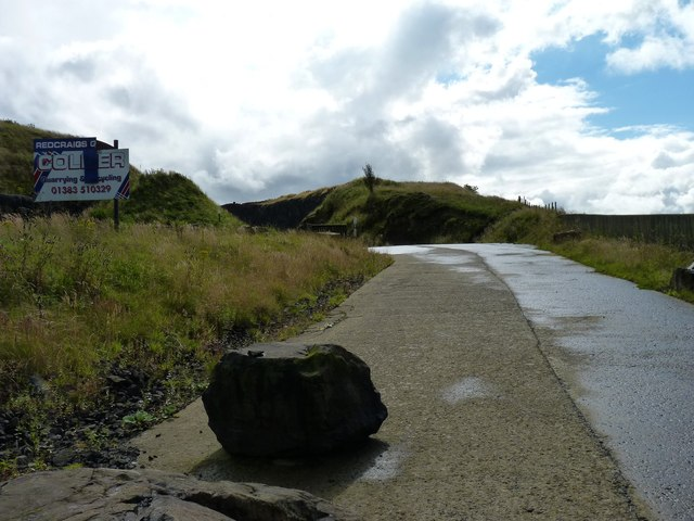 Entrance to quarry