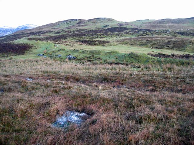 Moorland below Breiskor