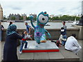 TQ3079 : Underwater Wenlock at Southbank by PAUL FARMER