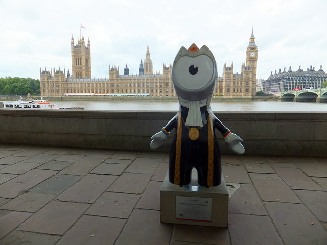 Ceremonial Speaker Wenlock at South bank