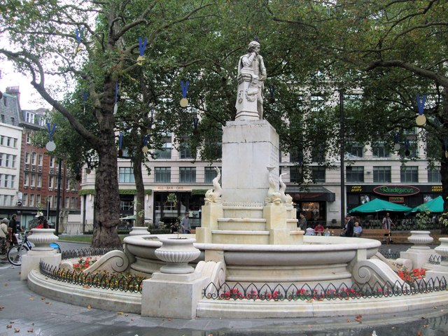 William Shakespeare statue - Leicester Square