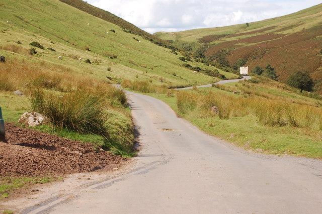 The lane ascending the Gospel Pass