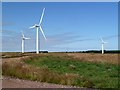 NT8367 : Drone Hill Wind Farm by Walter Baxter