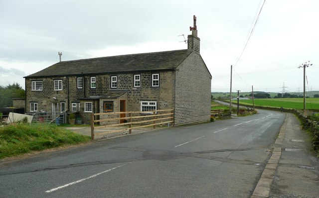 The former New Rock Inn, Scammonden Road, Barkisland