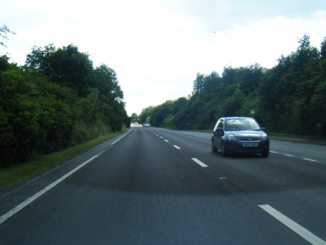 A534 near Bradeley Hall