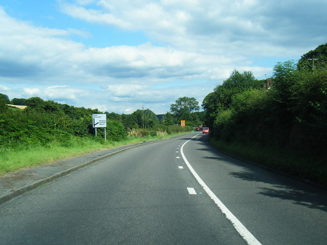 A531 Main Road looking east