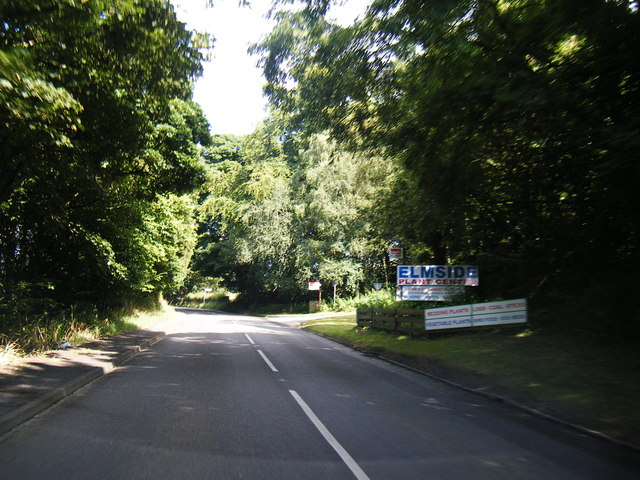 A531 near Bowsey Wood