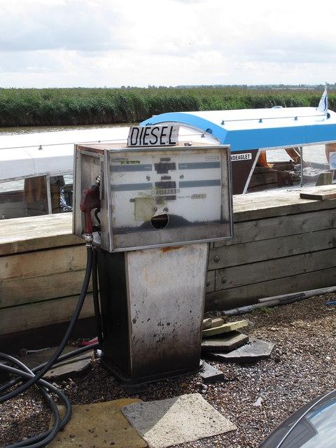 Diesel pump, Sanderson Marine