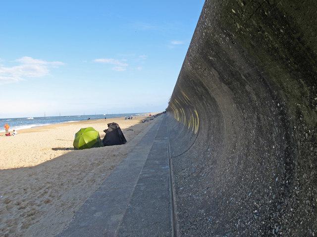 Sea Palling sea wall