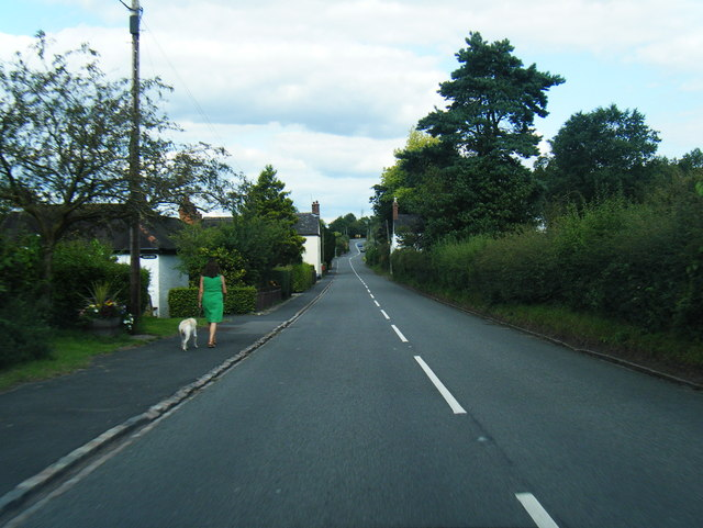 A51 in Hill Chorlton