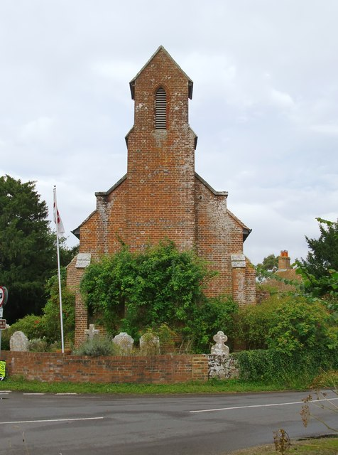 St Martin's church, Ibsley
