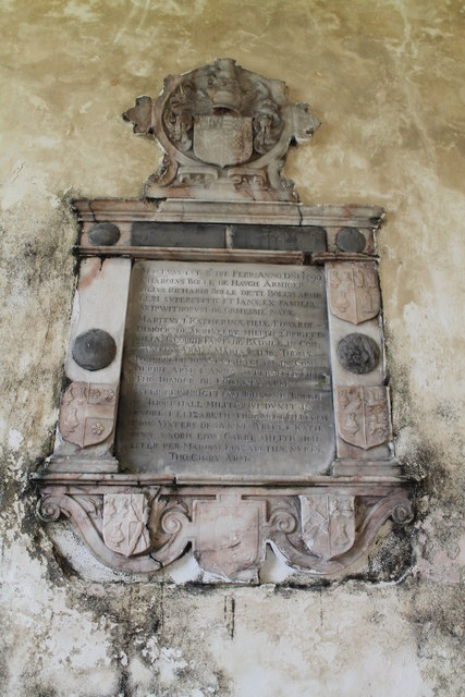 Memorial to Charles Bolle, Haugh Church