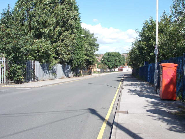 Westland Road - viewed from Westland Square