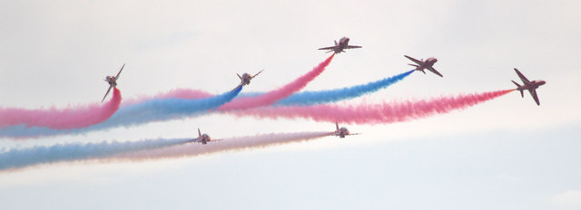 The Red Arrows, Clacton, Essex