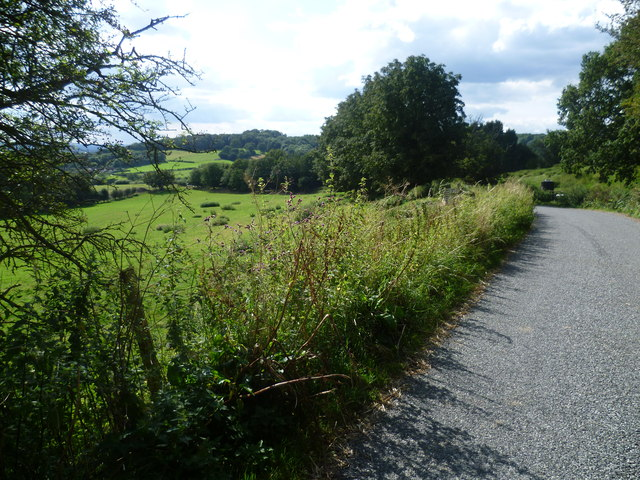 Looking down Church Lane, Boughton Malherbe
