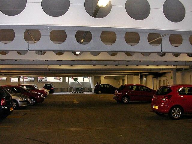 Rugby-Asda Underground Car Park