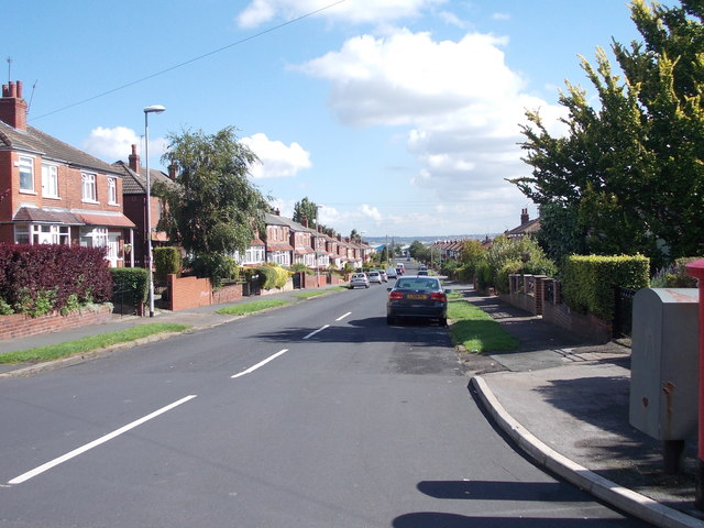 Allenby Road - viewed from Allenby Drive