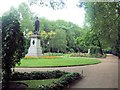 TQ3080 : Garden by Victoria Embankment by Paul Gillett