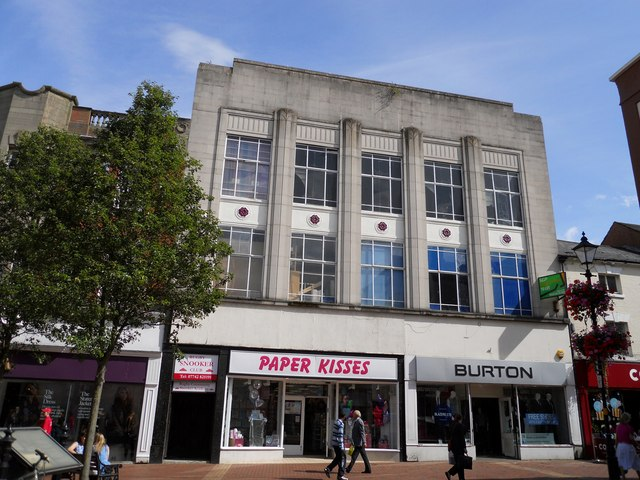Rugby-The Burton Building