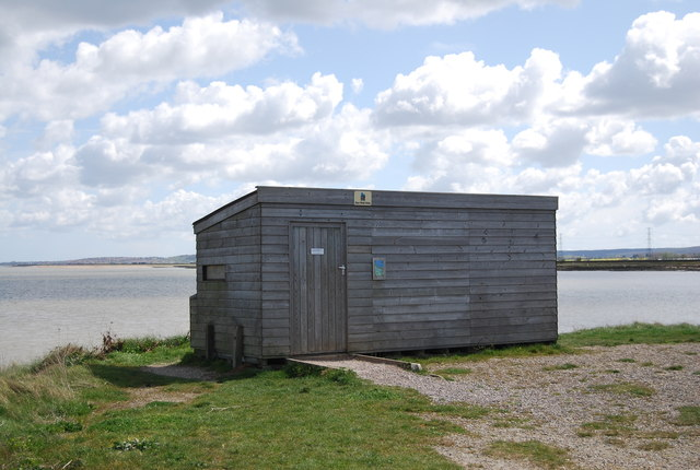 RSPB Hide, Oare Marshes NNR