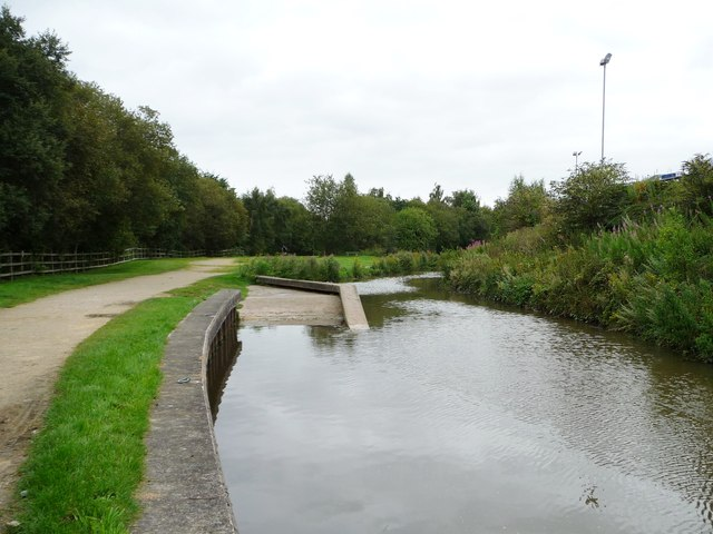 Trailboat slipway, Chesterfield Canal