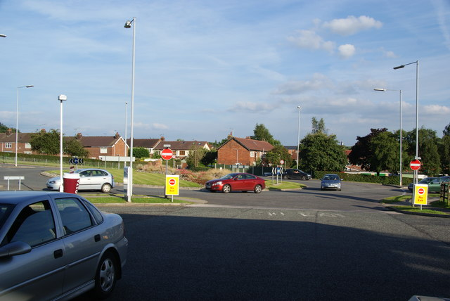 Roundabout on the A34 in Congleton