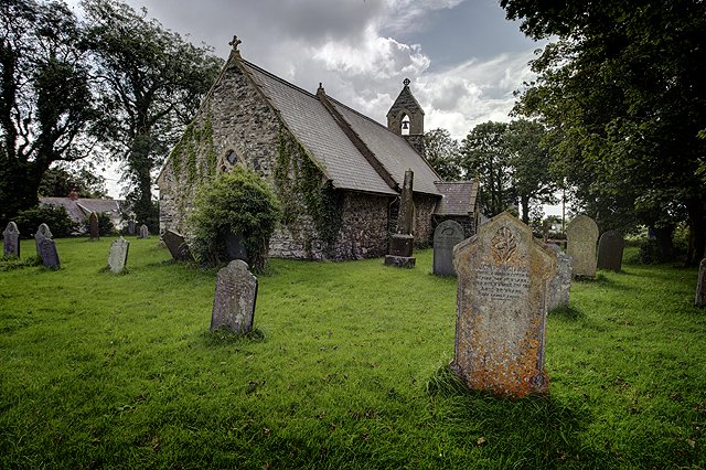 Church Of Saint Nicholas Pembrokeshire Alan Thomas