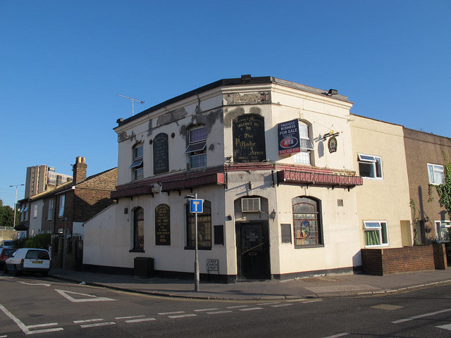 The former Pitlake Arms