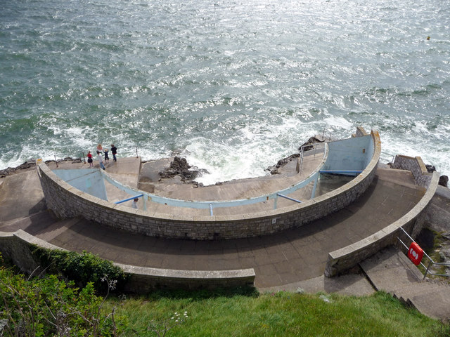Men's Bathing Area, Plymouth, Devon