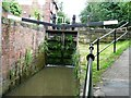 SK3872 : Bottom gates, Ford Lane lock by Christine Johnstone