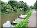 SK3872 : Double anglers' platform, Chesterfield Canal by Christine Johnstone
