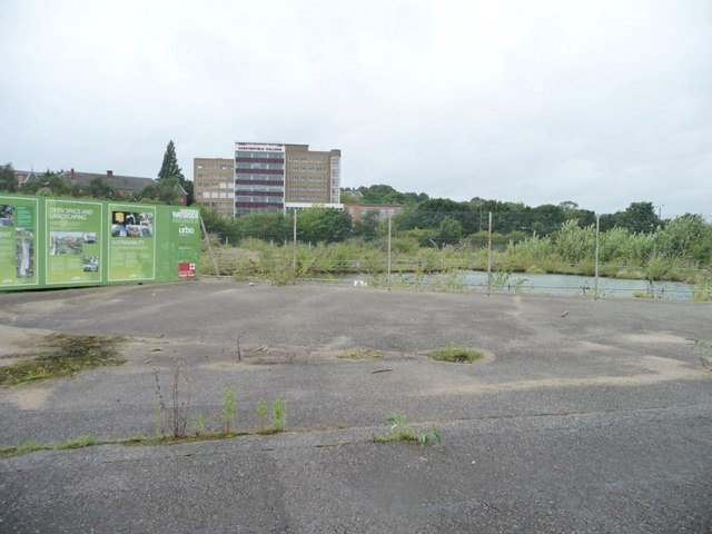 Chesterfield Waterside, awaiting development