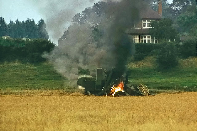 A harvesting disaster, 1975