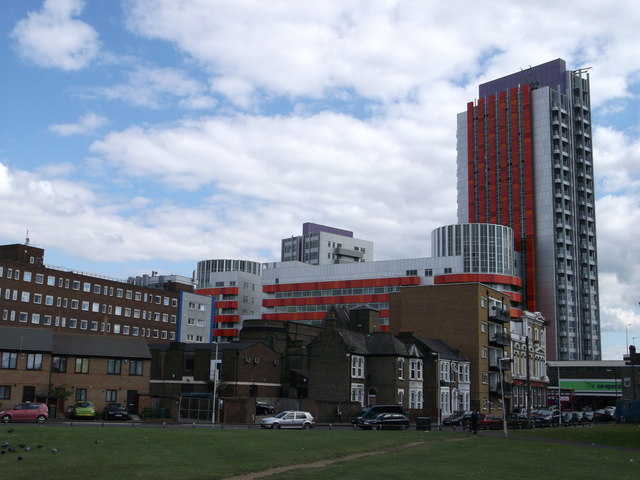 New and Old Canning Town