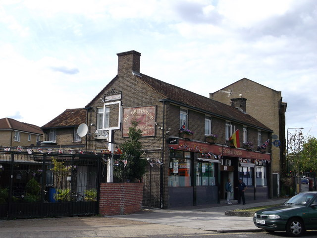 The Greyhound Public House, West Ham