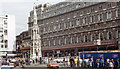 TQ3080 : Charing Cross Station entrance and Hotel, 1983 by Ben Brooksbank