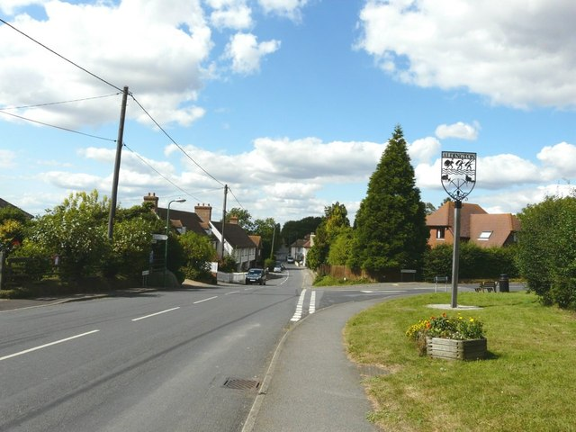 Aldington village sign