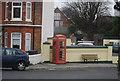 TR3664 : K6 Kiosk, Pegwell Rd by N Chadwick