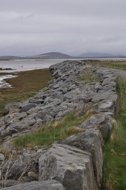 Coastal Defences at Iochdar