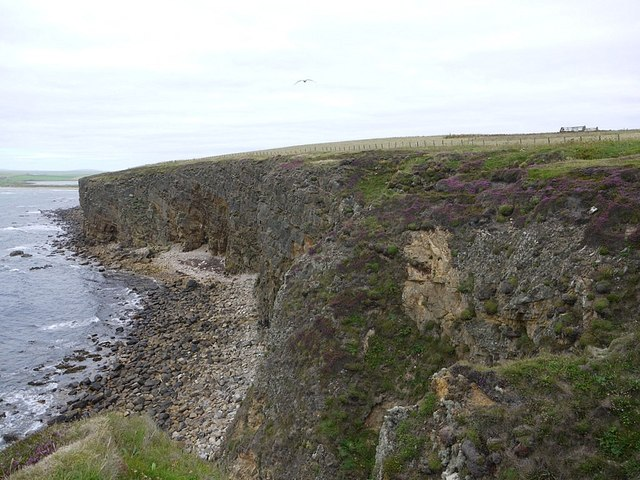 Rocky beach near Rowe Geo
